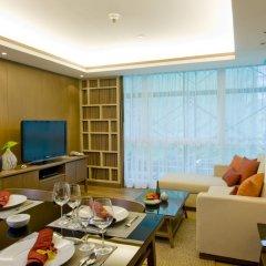 Отель Amari Residences Bangkok 4* Студия Делюкс с различными типами кроватей фото 8