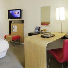 Отель Novotel Lyon Centre Part Dieu 4* Улучшенный номер с различными типами кроватей фото 2