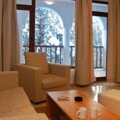 Апартаменты Grand Monastery Apartments Пампорово комната для гостей фото 3