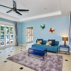 Отель Cozy Beach pool villa by MyPattayaStay комната для гостей фото 3