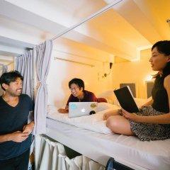 Matchbox The Concept Hostel Кровать в общем номере с двухъярусной кроватью фото 8