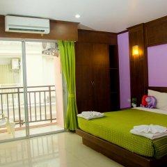 Hawaii Patong Hotel 3* Улучшенный номер с двуспальной кроватью фото 15