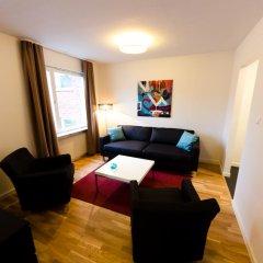 Отель Berling Apartments Швеция, Карлстад - отзывы, цены и фото номеров - забронировать отель Berling Apartments онлайн комната для гостей фото 2