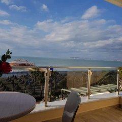 Отель Klajdi Албания, Голем - отзывы, цены и фото номеров - забронировать отель Klajdi онлайн балкон