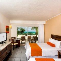 Отель Flamingo Cancun Resort Мексика, Канкун - отзывы, цены и фото номеров - забронировать отель Flamingo Cancun Resort онлайн комната для гостей фото 4