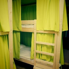 Great Hostel Кровать в мужском общем номере с двухъярусной кроватью