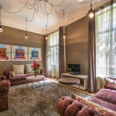Отель INNSIDE by Melia Prague Old Town 4* Улучшенный номер разные типы кроватей фото 11