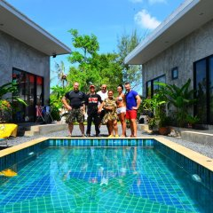 Отель BK Boutique Resort бассейн фото 2