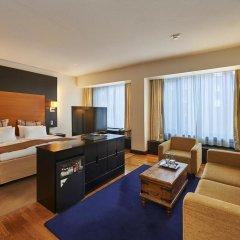 Отель Crowne Plaza Helsinki 4* Стандартный номер с разными типами кроватей фото 3