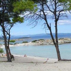 Отель Katina's House пляж