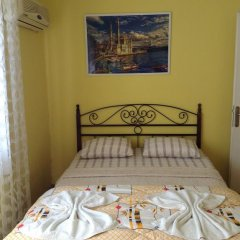 Nur Pension Стандартный номер с двуспальной кроватью фото 2