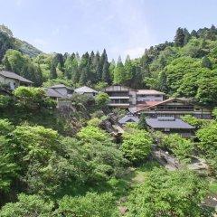 Отель Tarutama Onsen Yamaguchi Ryokan Минамиогуни приотельная территория