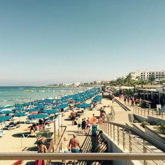 Отель Tonia Villas Кипр, Протарас - отзывы, цены и фото номеров - забронировать отель Tonia Villas онлайн пляж фото 2