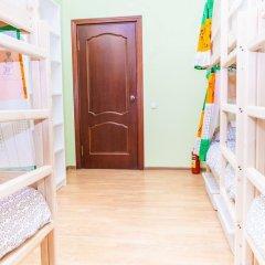 Гостиница Hostels Rus Golovinskiy Кровать в общем номере с двухъярусной кроватью фото 8