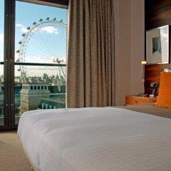 Отель Park Plaza County Hall London 4* Люкс с различными типами кроватей фото 7