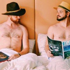 Отель My Rainbow Rooms Gay Men's Guest House 2* Стандартный номер с различными типами кроватей фото 23