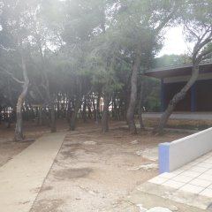 Отель Alberg Santa Maria del Mar парковка
