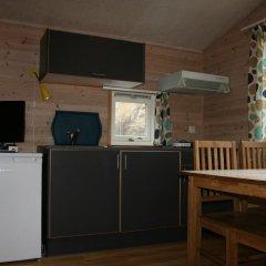 Отель Odda Camping Коттедж с различными типами кроватей фото 7