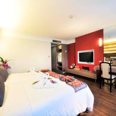 Jomtien Garden Hotel & Resort 4* Номер Делюкс с различными типами кроватей фото 28