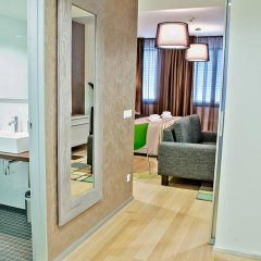 Отель Wenceslas Square Terraces Апартаменты Премиум с различными типами кроватей фото 2