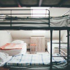 Хостел Крыша Кровать в общем номере двухъярусные кровати фото 11