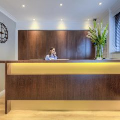 Отель Comfort Inn & Suites Kings Cross Лондон интерьер отеля