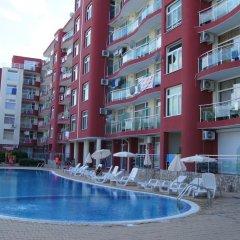 Отель Single Apartment in Global Ville Aparthotel Болгария, Солнечный берег - отзывы, цены и фото номеров - забронировать отель Single Apartment in Global Ville Aparthotel онлайн бассейн фото 2