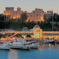 Отель Sun's Island Suites Греция, Родос - отзывы, цены и фото номеров - забронировать отель Sun's Island Suites онлайн приотельная территория