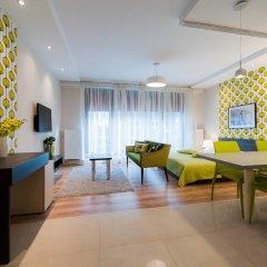 Отель EXCLUSIVE Aparthotel Улучшенные апартаменты с 2 отдельными кроватями фото 35