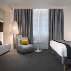Отель Radisson Blu Edinburgh 4* Стандартный номер с различными типами кроватей фото 2