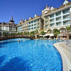 Отель Side Crown Palace - All Inclusive бассейн фото 2