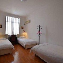 Chengdu Traffic Youth Hostel Стандартный номер с различными типами кроватей (общая ванная комната) фото 3