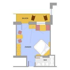 Hotel Zebru Стельвио комната для гостей фото 3