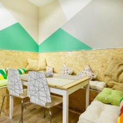 Nice Hostel Павелецкая Люкс с различными типами кроватей фото 13