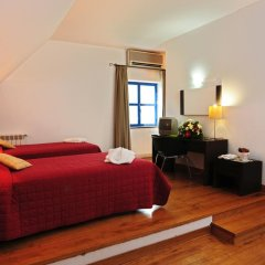 INATEL Piódão Hotel 4* Улучшенный номер двуспальная кровать фото 4