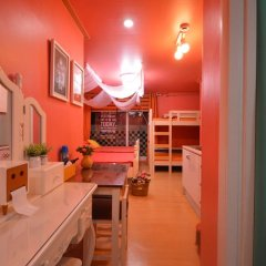 Отель Han River Guesthouse 2* Семейная студия с двуспальной кроватью фото 33