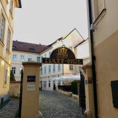 Апартаменты Metropolis Prague Apartments-zlaty Dvur Прага балкон