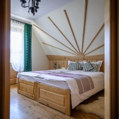 Отель Pensjonat Góralska Chata Закопане комната для гостей фото 2