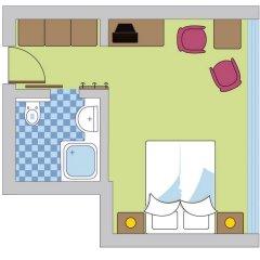 Отель Geigers Lifehotel 4* Стандартный номер с двуспальной кроватью фото 7