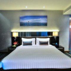 Отель The Continent Bangkok by Compass Hospitality 4* Стандартный номер с различными типами кроватей фото 45