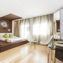 Отель Hola Barcelona Bismark Барселона комната для гостей фото 4