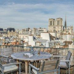 Отель Notre Dame Paris Flat Париж балкон