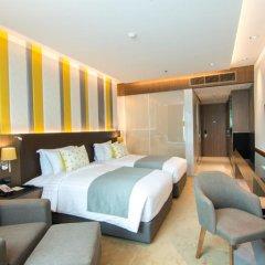 Отель Lancaster Bangkok 5* Номер Делюкс с различными типами кроватей фото 7