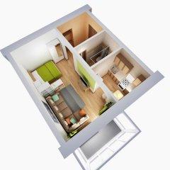 Апартаменты Альфа Апартаменты Красный Путь Студия с различными типами кроватей фото 31