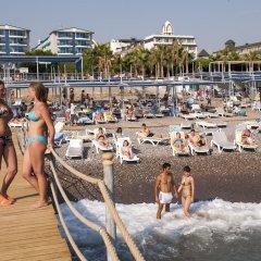 Concordia Celes Hotel - Ultra All Inclusive Турция, Окурджалар - отзывы, цены и фото номеров - забронировать отель Concordia Celes Hotel - Ultra All Inclusive онлайн пляж