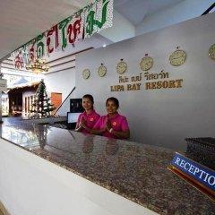 Отель Lipa Bay Resort интерьер отеля фото 3