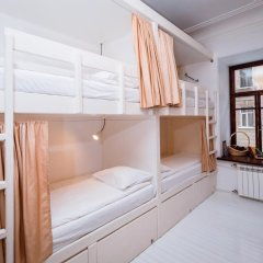 Тайга Хостел Кровать в общем номере с двухъярусной кроватью фото 8