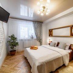 Гостиница В Сердце Львова комната для гостей