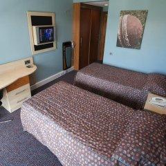 Отель Hilton Garden Inn Manchester Emirates Old Trafford 4* Стандартный номер с различными типами кроватей