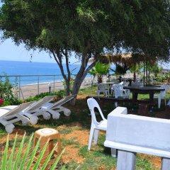 Отель Mavi Cennet Camping Pansiyon Сиде бассейн фото 3